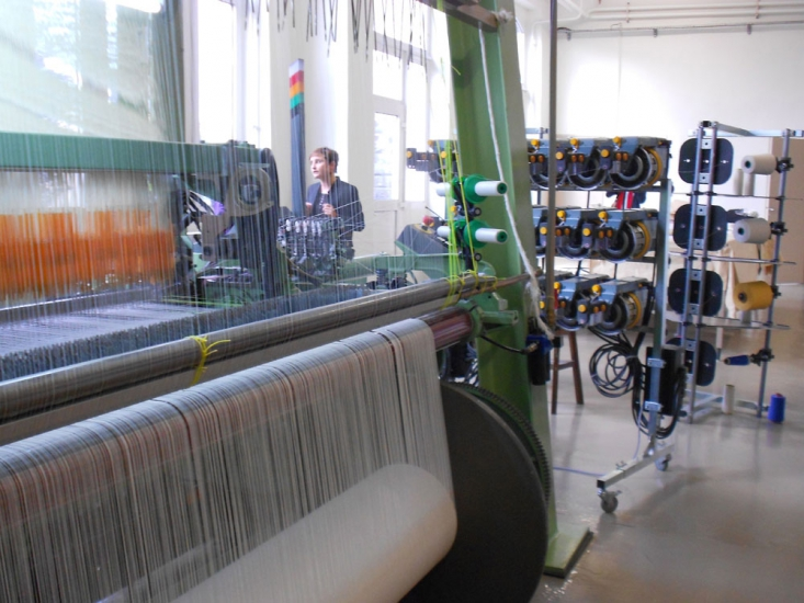 Digital tapestry loom, Néolice