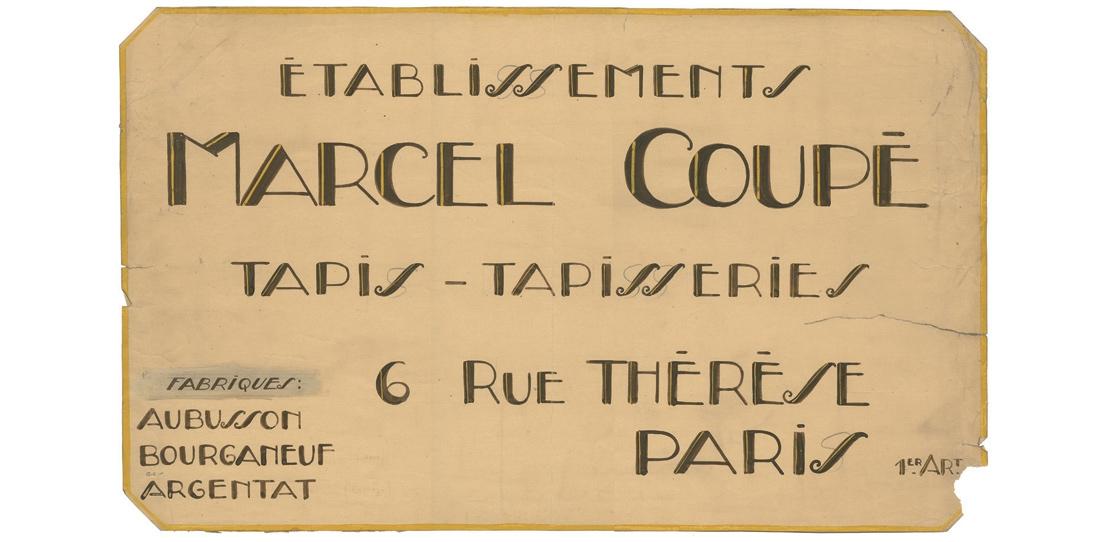 Enseigne de la Manufacture Coupé, Bourganeuf
