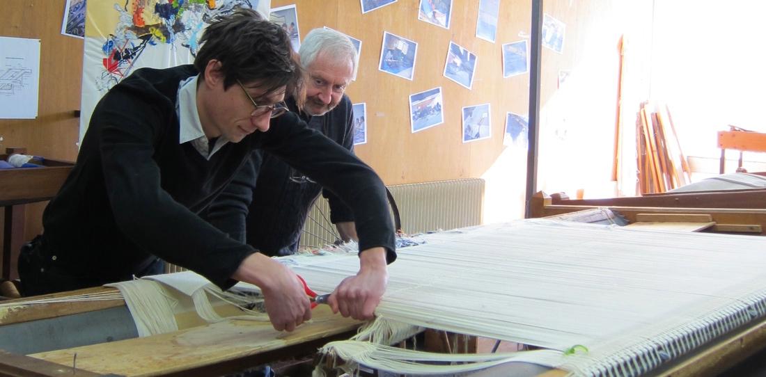 Blink # 0, Benjamin Hochart, tombée de métier aux Ateliers Pinton, 2011