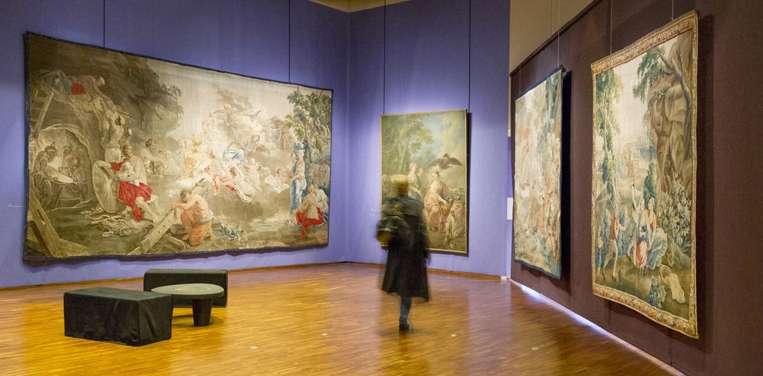 Verdure fine aux armes de Brühl / Galerie Neuse (Brême)