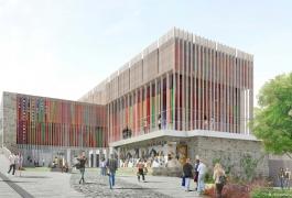 Perspective de la future Cité internationale d ela tapisserie