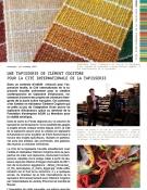 Une tapisserie de Clément Cogitore pour la Cité de la tapisserie