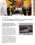 La Caisse d'Épargne d'Auvergne et du Limousin soutient la Cité internationale de la tapisserie